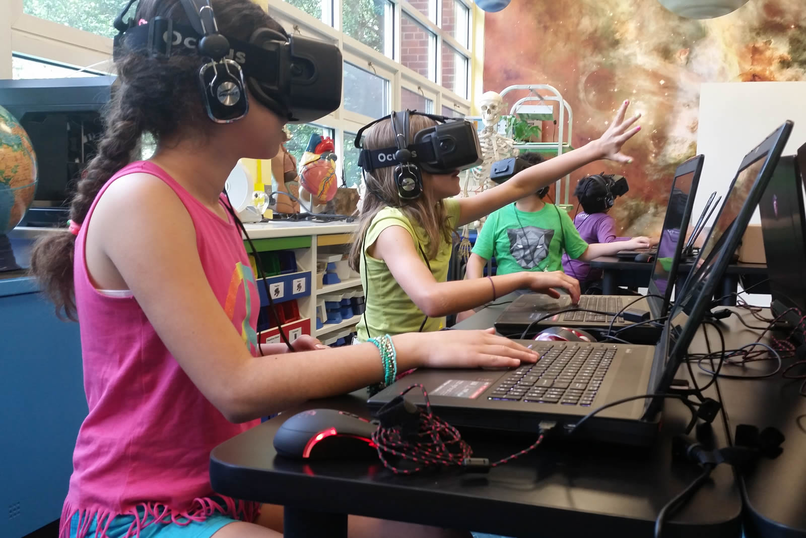 DSC Starts Using Virtual Reality in Education